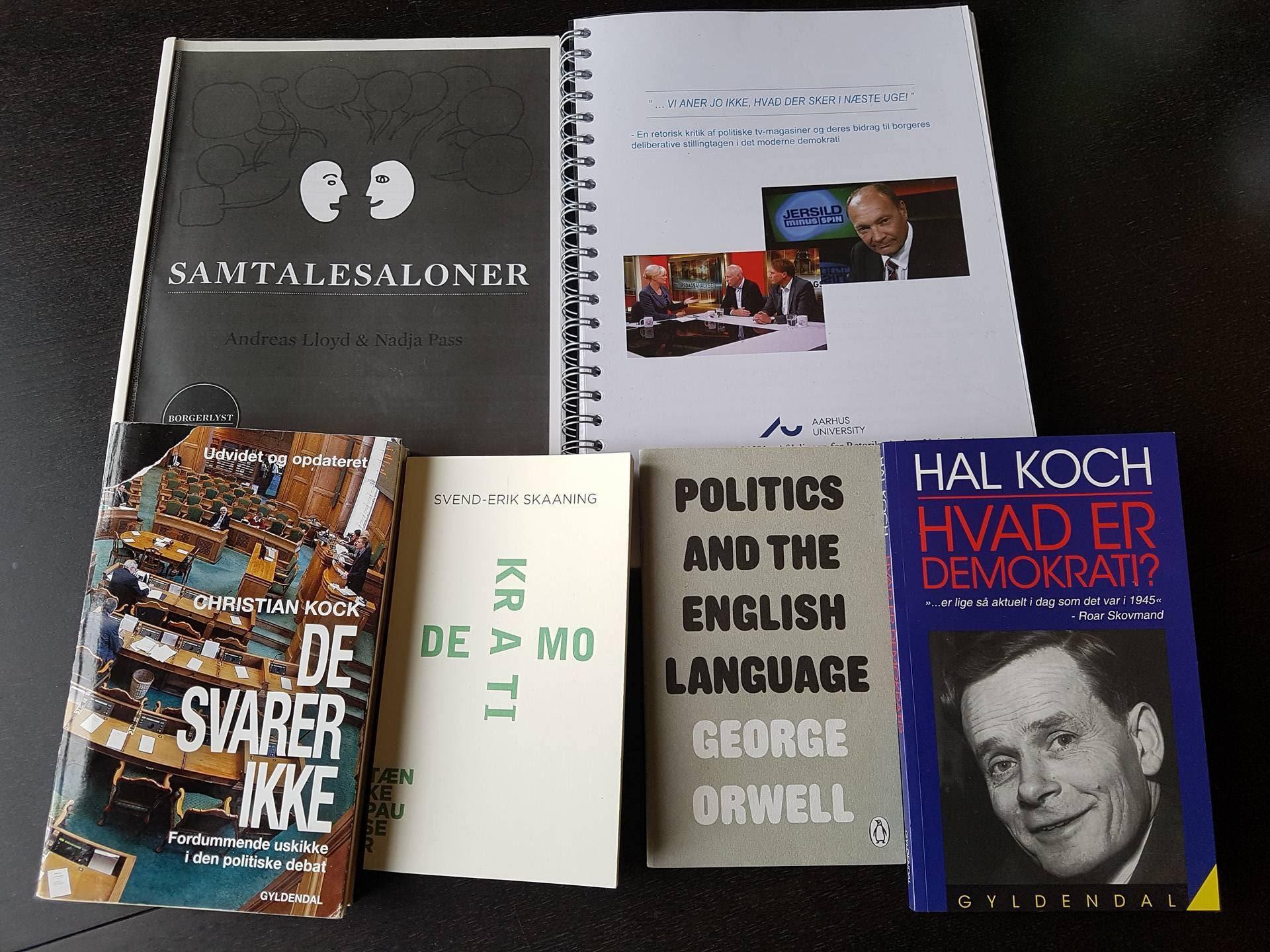 Bøger om deliberation, politik og samfund
