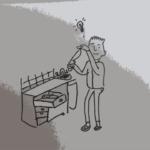 at have en sløv kniv i skuffen er ikke særligt klogt