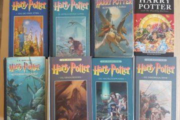 Harry Potter - bogserie med samfundskommentarer