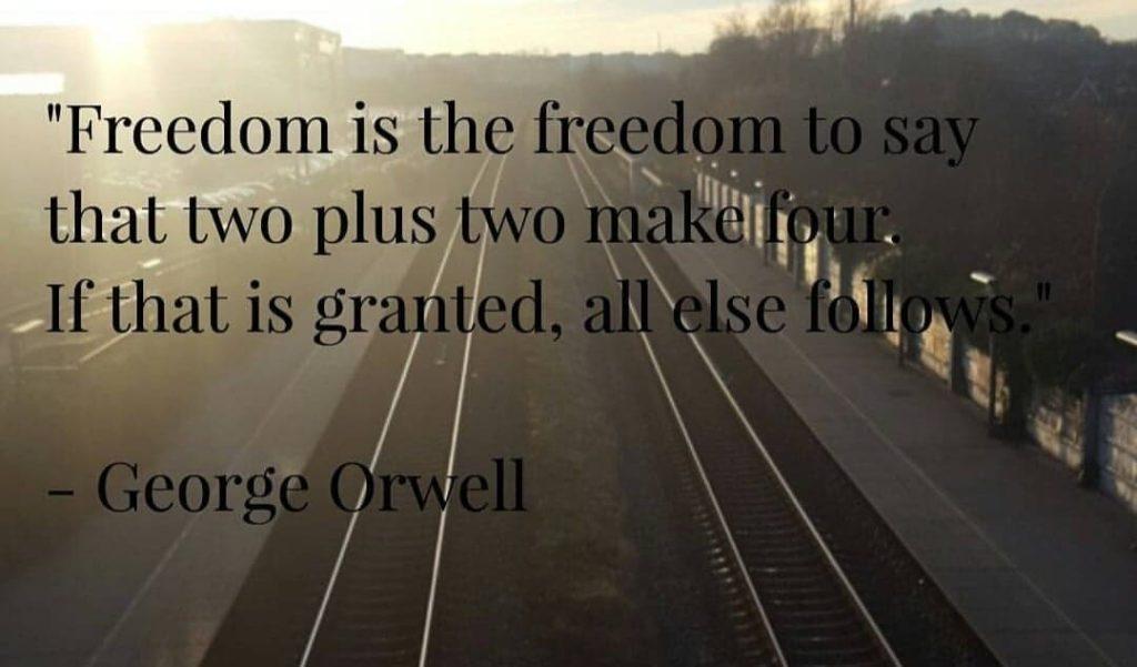 1984 af George Orwell - 2+2=5