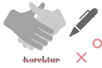 Samarbejde om korrektur