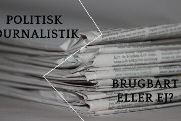 Vurdér politisk journalistik