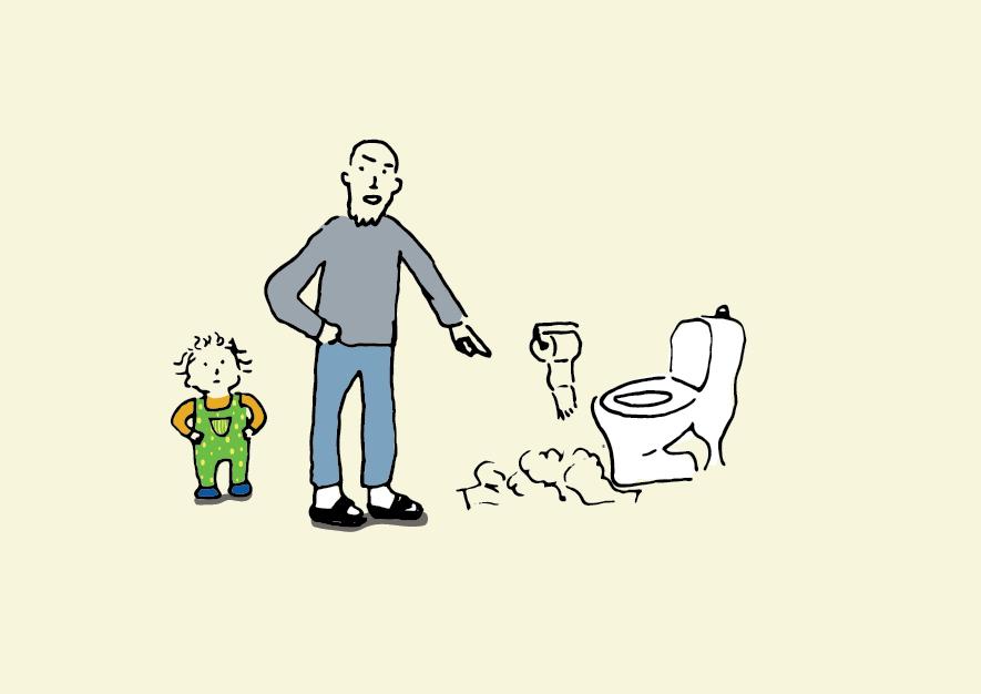 Smide i toilettet 4